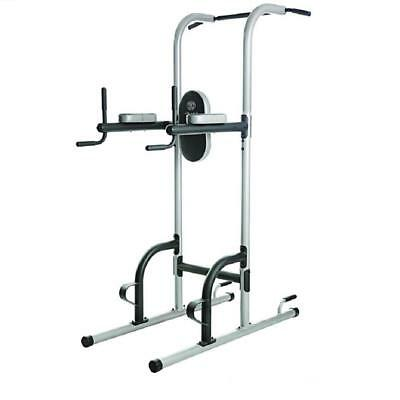 Strength Training Tower Work Out Machine Station Push Up Pull Dip Gold's Gym