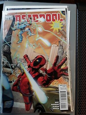 Deadpool #25 2010 NM First Print 3D Glasses included Bagged and Boarded