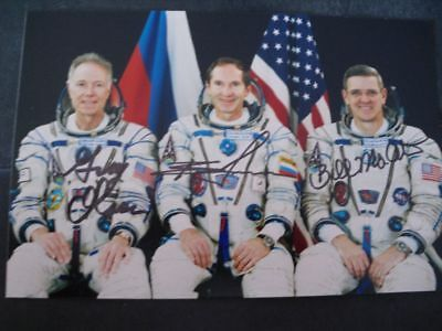 SOJUS TMA07 Photo 10x15cm orig.signed Crew, SPACE