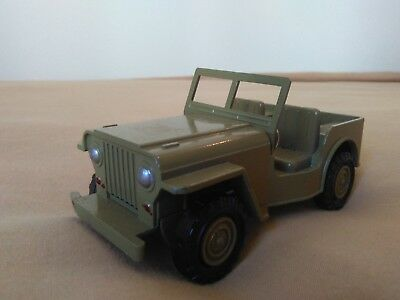 Miniatura 1:36 Nacoral Intercars Chiqui Cars Metal 502 Jeep. Made in Spain.