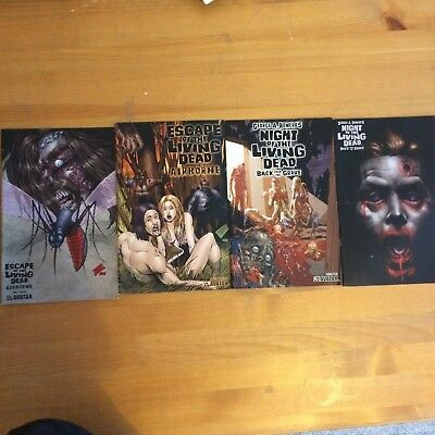 Night of the Living dead comic books graphic novels great condition rare