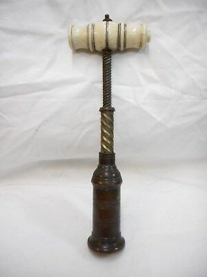 Superb Original Antique Victorian Thomason Variant Corkscrew Mechanical