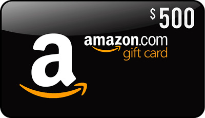 $500 Amazon Gift Card (Email Delivery)