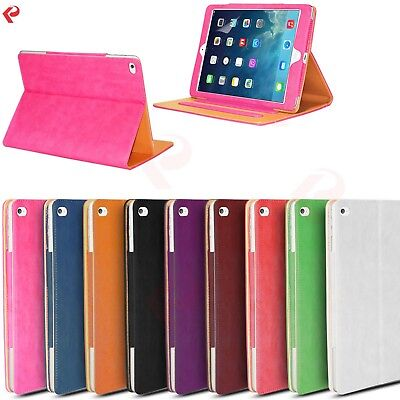 Smart Magnetic Leather Stand Case Cover for iPad 2 3 4
