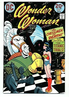 Wonder Woman #208    The Chessmen of Death