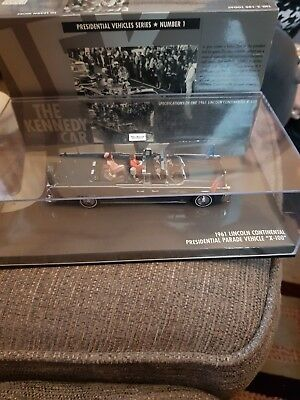 Minichamps 086100 Lincoln Continental 1961 X-100 Kennedy Presidential Parade Car