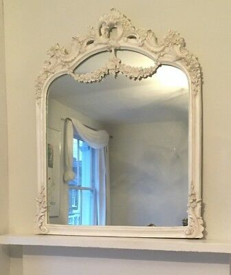 Large French baroque rococo-style mirror
