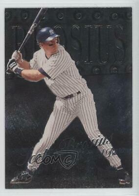 1999 Skybox Metal Universe #143 Scott Brosius New York Yankees Baseball Card