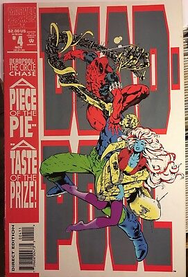 Deadpool The Circle Chase 4 Marvel 1993