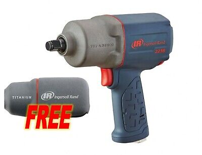 """Ingersoll Rand #2235TiMAX: 1/2"""" Impact Wrench w/ FREE Boot & Socket Set!"""