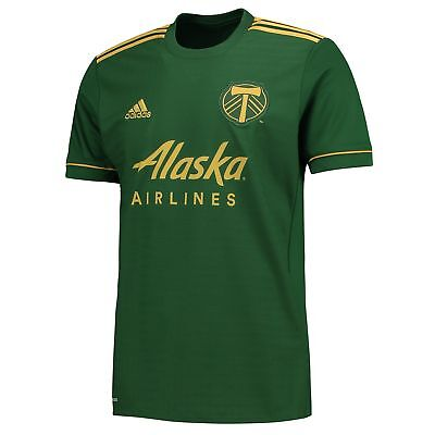 Portland Timbers Home Shirt Jersey Top 2017-18 Mens Gents Football adidas