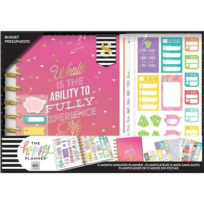 MAMBI The CLASSIC Happy Planner - Boxed Kit with Extras - Budget - Wealth