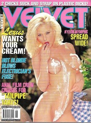 Collectable Glamour Mag: Lexus and Anita Blonde
