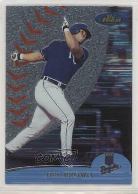 2000 Topps Finest #236 Dee Brown Kansas City Royals Baseball Card