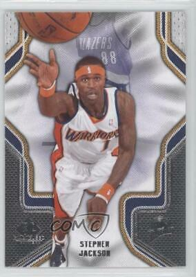 2009-10 SP Game Used  89 Stephen Jackson Golden State Warriors Basketball  Card 705bc9e73