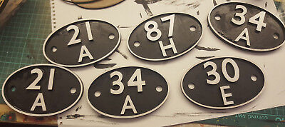 Gwr/br Shed Plate Number Replica...any Numbers
