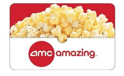 AMC Theaters $25 Physical Gift Cards