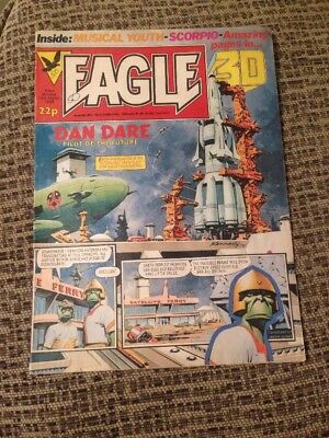 March 12th 1983, EAGLE, Piers Laurence, Ridley Scott, Musical Youth, Todd Carty.