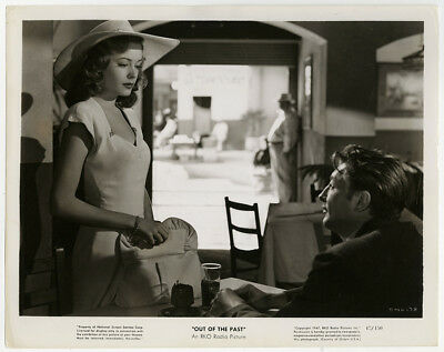 Jane Greer & Robert Mitchum in Out of the Past 1947 Vintage Film Noir Photograph