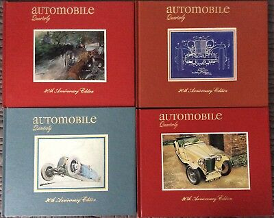 Automobile Quarterly Volume 20,  Complete, Issues 1-4, Great Condition