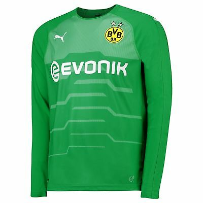 BVB Borussia Dortmund Official Away Goalkeeper Shirt 2018-19 Mens Puma Football