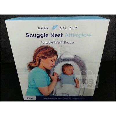 Baby Delight BD03500 Snuggle Nest Afterglow Portable Infant Sleeper for 0-6m