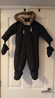 Junior J baby boys snowsuit 6-9 months