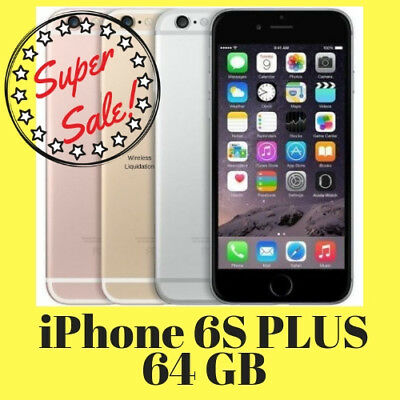 Apple iPhone 6S Plus 64GB Unlocked GSM & CDMA iOS Smartphone A1687