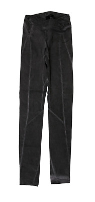 Urban Zen Gray Distressed Mid-Rise Skinny Pull On Pant Size 6