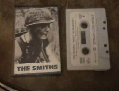 The smiths  meat is murder   tape, rare  , Morrissey ,rough trade, 1985