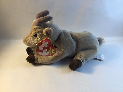 TY Beanie Baby - Goatee the Goat - With Tags