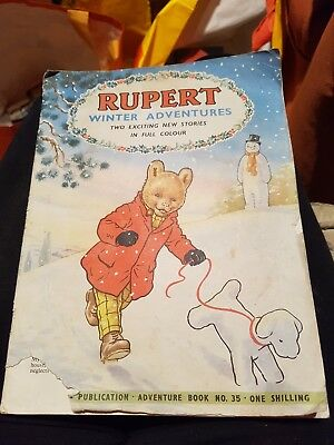 Rupert Adventure Series No.35 Winter Adventures