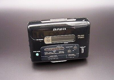 AIWA HS-RX737 Stereo Radio Cassette Player Japan working