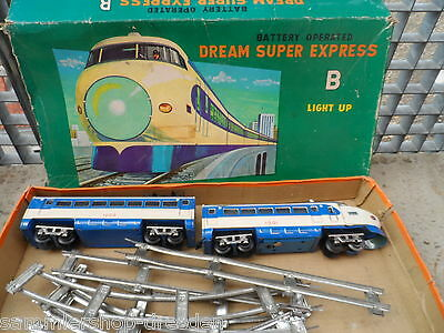19652 Dream Super express B Battery operated Japan Modern Toys used 1002