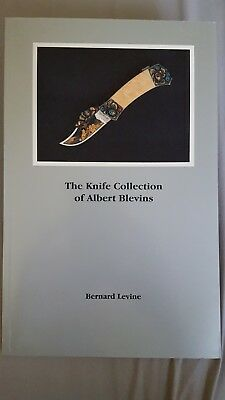 The Knife Collection of Albert Blevins by Bernard Levine (1988, Softcover) VG