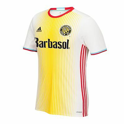 Official Columbus Crew Football Away Shirt Jersey Tee Top 2016/17 Kids