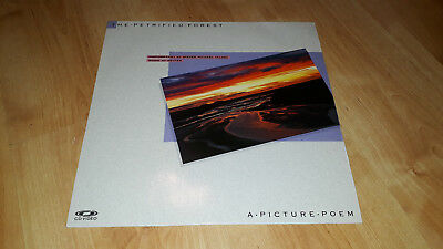 The Petrified Forest - A Picture Poem - Very Rare Music Laserdisc