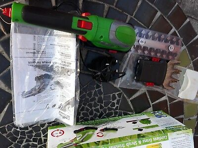 Florabest Cordless Grass & Shrub Trimmer Fgs 3.6 A1 Rechargeable