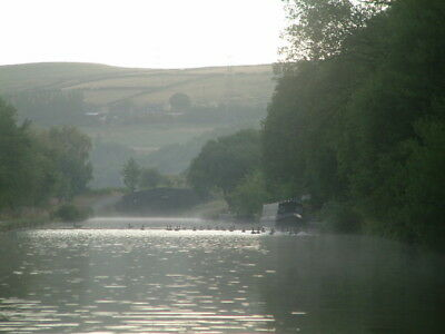 "Trans Pennine Canal Adventure Holiday on Historic Wooden Boat ""Hazel"" for upto 8"