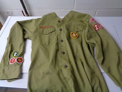 Vintage Boy Scouts Of America Shirt MILWAUKEE COUNTY COUNCL WIS. 230