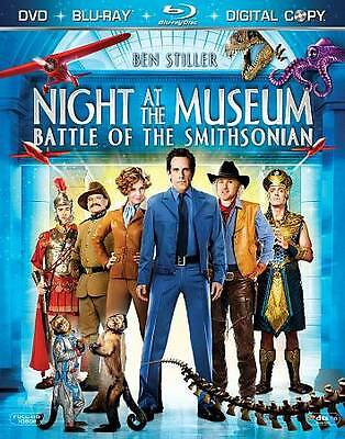 Night at the Museum: Battle of the Smithsonian (Three-Disc Edition + Digital Cop