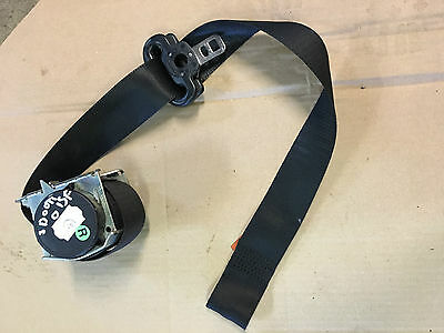 Ford Fiesta Mk6 3 Door Drivers Right Front Black Seat Belt Seatbelt 2S5Ab61294Ad