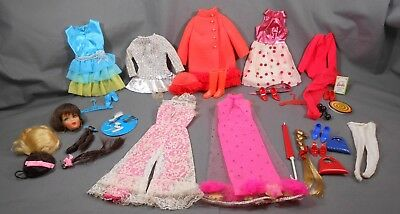 Vintage MOD Barbie Lot of Fun Clothes and Accessories - Most in EXC COND!!