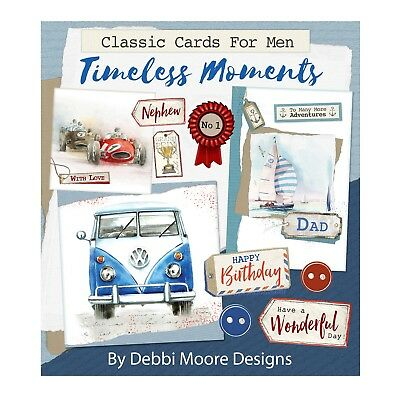 Debbi Moore Cards For Men Collection Timeless Moments Papercrafting CD
