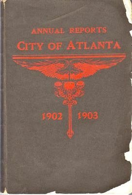 City of Atlanta / Annual Reports City of the Committees of Council Officers 1st