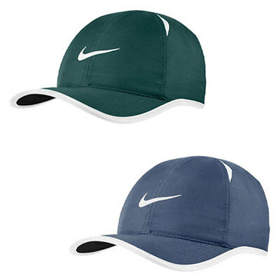 35a6212c2c2 NIKE MEN`S FEATHERLIGHT Tennis Cap Hat One Size Adjustable 679421 ...