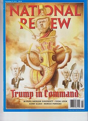 Donald Trump The National Review Magazine November 27 2017 No Label In Command