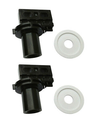 2) Polaris C65 Pool Cleaner 180 280 Washer Replacement Rear Large Axle Wheels