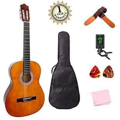 Classical Guitar 3/4 Size 36 inch Kids Guitar Acoustic Guitar for Beginners 6