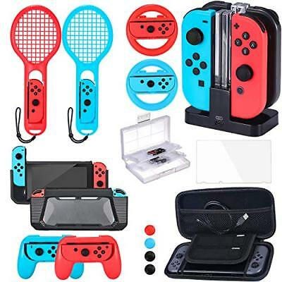 Accessories Bundle Compatible with Nintendo Switch Accessories Kit with